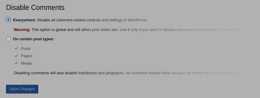 Block spam comments in Wodrpess using a plugin