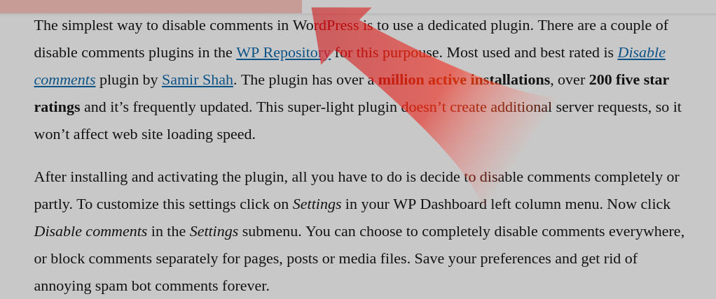 Worth The Read plugin progress bar