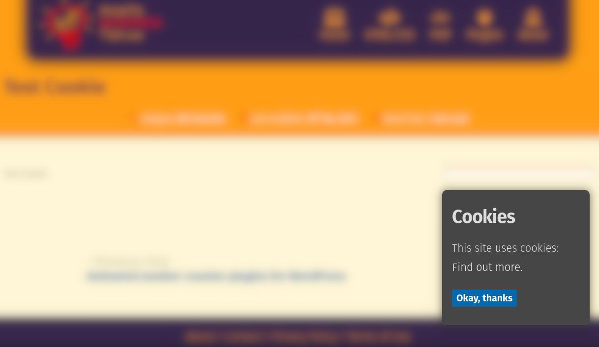 GDPR Cookie Consent Banner WordPress cookies plugin
