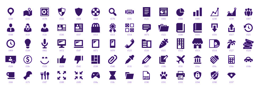 Dashicons Icons for WordPress