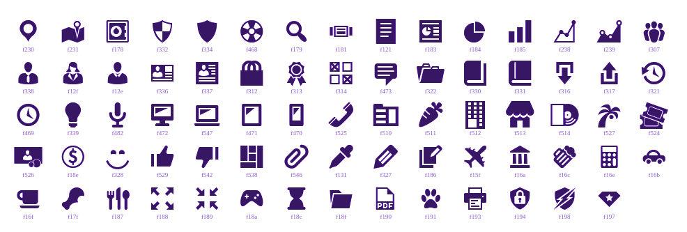 Dashicons Icons for WordPress